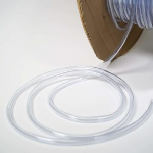 1/4″ x 3/8″ Clear Vinyl Tubing 50ft/rl